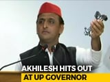 Video : In Row Over UP Bungalow, Akhilesh Yadav Carries Taps To Prove A Point