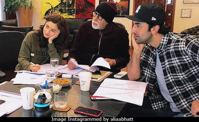 Amitabh Bachchan Corrects Alia Bhatt's Oopsie. 'Not Again,' Tweets Red-Faced Actress
