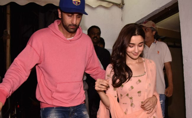 'Ranbir Kapoor Is Outstanding In Sanju': Alia Bhatt