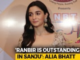 Video: Here's What Alia Bhatt Has To Say About Ranbir Kapoor's <i>Sanju</i>