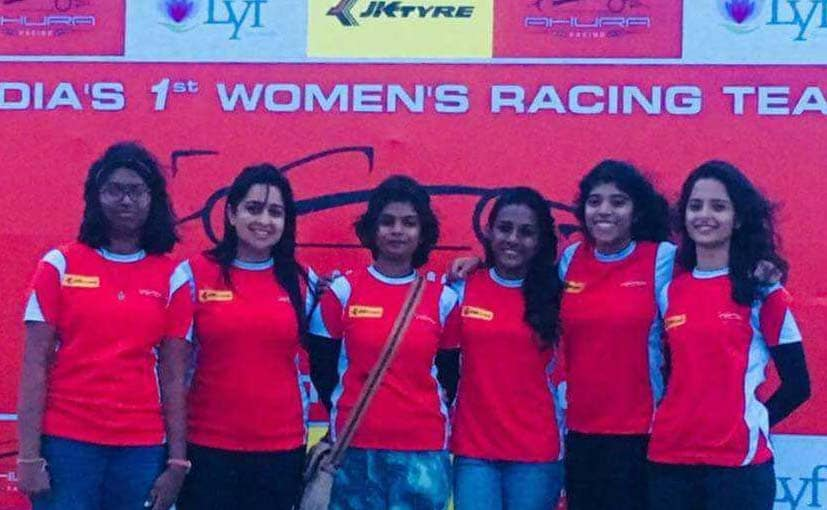 all women drivers jk tyre fmsci national racing championship