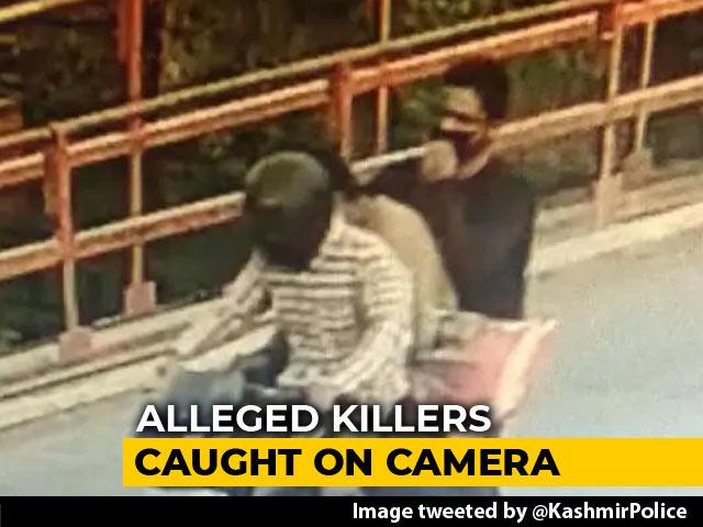 Video : Seen On CCTV, 3 Men Suspected Of Killing Journalist Shujaat Bukhari