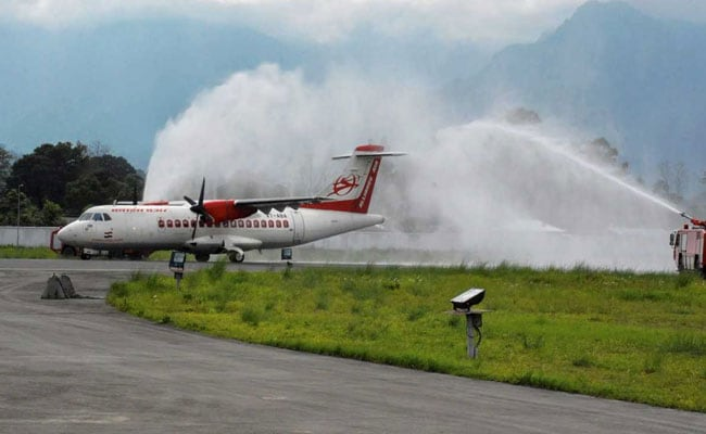 Alliance Air With 70 Passengers On Board Overshoots Runway At Shirdi Airport