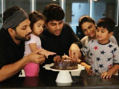 Allu Arjun Posted Family Pic On Brother Allu Sirish's Birthday And It's Viral