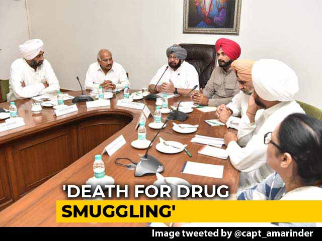 Video : Punjab To Call For Death Penalty For Drug Dealers, Smugglers