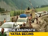 "Video : ""There's No Fear"", Say Amarnath Pilgrims As First Batch Leaves Jammu"
