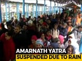 Video : Flood Alert In Jammu And Kashmir, Amarnath Yatra Suspended