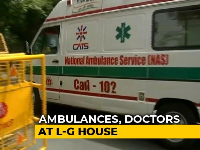 Video : On Day 5 Of Arvind Kejriwal Sit-In, Ambulances Bring Talk Of Intervention