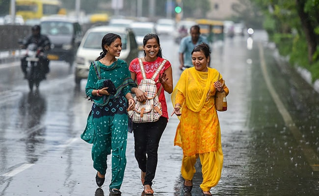 Delhi Rain: Heavy Rain In Delhi, More Shower In Forecast For National Capital