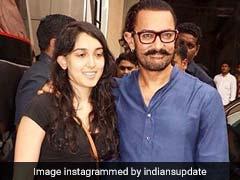आमिर खान को फिल्म स्टूडियो में बेटी इरा ने यूं दिया सरप्राइज, वीडियो हुआ वायरल
