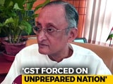 Video : No Pilot Project Done, Now Confusion Over GST: Amit Mitra