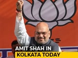 Video : BJP Chief Amit Shah In Kolkata Today, Will Hold Series Of Meetings