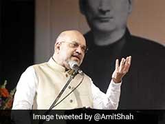 """Congress Censoring <i>Vande Mataram</i> Led To India's Partition"": Amit Shah"