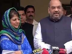 End Of Ramzan Ceasefire Upsets PDP, Amit Shah Summons Leaders: Sources