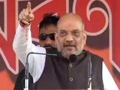 Grand Alliance Fine, Handle Bengal First: Amit Shah To Mamata Banerjee