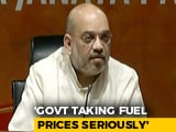 Video : Solution To Rising Petrol, Diesel Prices In 3-4 Days, Says Amit Shah