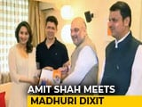 Video : Amit Shah Meets Ratan Tata, Madhuri Dixit