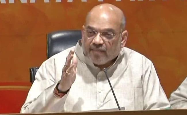 कर्नाटक में कांग्रेस-JDS गठबंधन मैनडेट के खिलाफ, हमने कांग्रेस से 14 राज्य छीने : अमित शाह