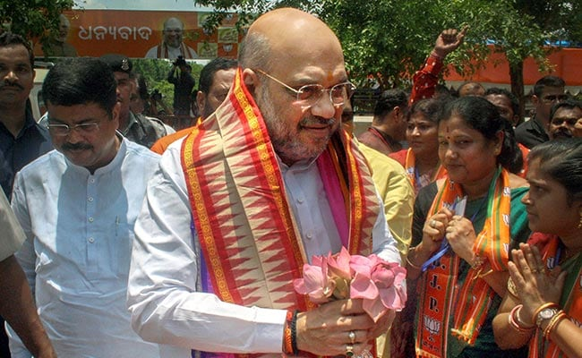 BJP Will Sweep 2019 Odisha Polls: Amit Shah