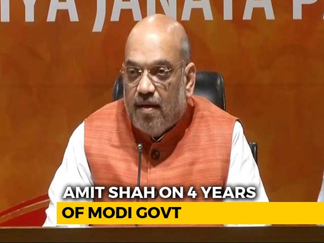 Video : NDA Rules Over 65% Of Country, Says Amit Shah
