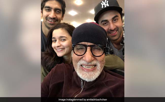 Brahmastra: Amitabh Bachchan Gets Ranbir Kapoor's Name Wrong In Caption For Selfies With Alia Bhatt, Then Posts This Disclaimer