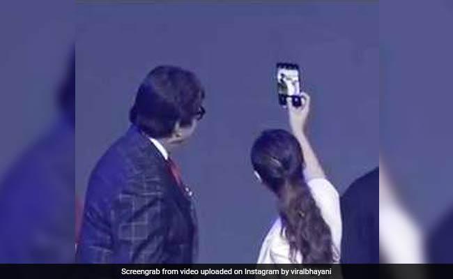 अमिताभ बच्चन संग सेल्फी खिंचवाने के लिए इतनी दीवानी हो गई ये एक्ट्रेस, बार-बार कर रही थी कुछ ऐसा