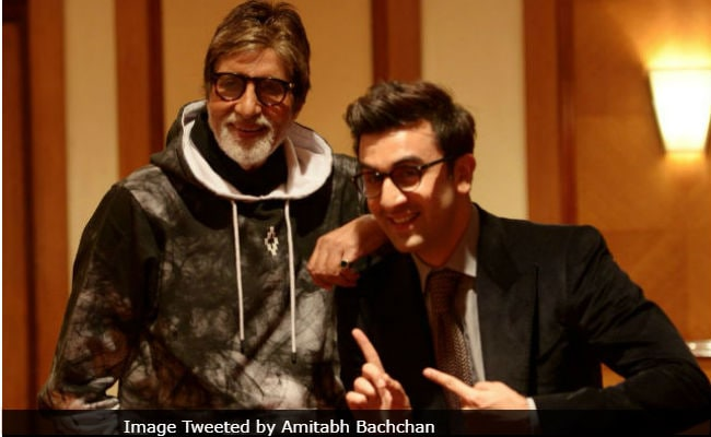 Ranbir Kapoor Says Brahmastra Co-Star Amitabh Bachchan Is The Biggest 'Superstar In The World'