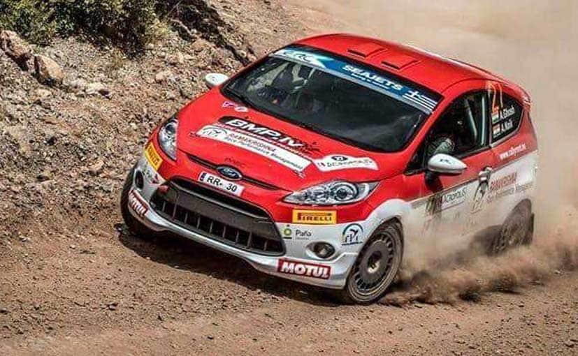 amittrajit ghosh ashwin naik european rally championship
