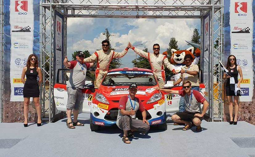 Amittrajit Ghosh And Ashwin Naik Become First Indians To Win European Rally Championship In Debut Rally