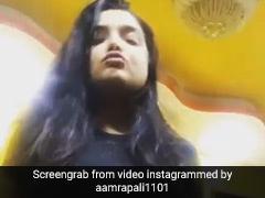 आम्रपाली दुबे ने सलमान के 'स्वैग से स्वागत' पर इस झकास अंदाज में दिखाईं अदाएं, वीडियो हुआ वायरल