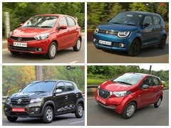 Automatic Cars In India Under Rs. 6 Lakh