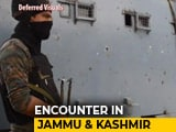 Video : Terrorists Killed In Kashmir Encounter May Be Part Of ISIS, Says Top Cop