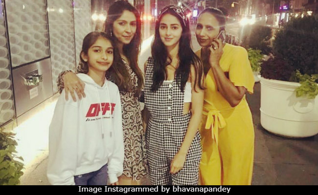Student Of The Year Ananya Panday Is Filling Up School Break Album With New York Stories