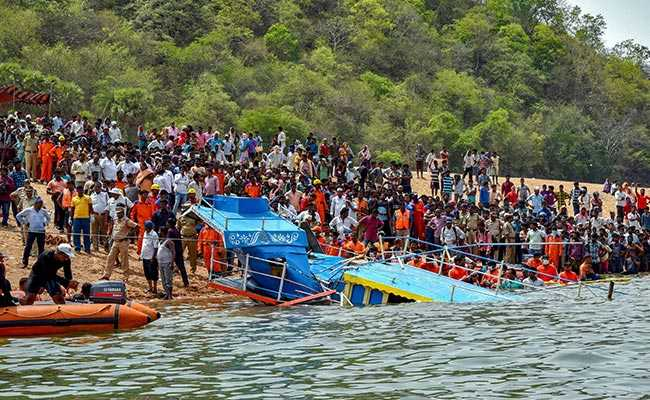 Andhra boat capsize: 12 bodies recovered, CM announces ex-gratia