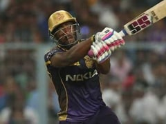 Watch: Kolkata Knight Riders' Andre Russell Discovers 'Tennis Shot' To Hit A Six