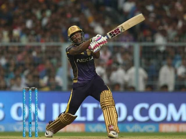 Watch: Kolkata Knight Riders Andre Russell Discovers Tennis Shot To Hit A Six