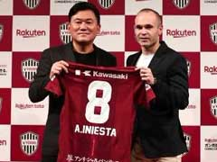 Barcelona Icon Andres Iniesta Joins Vissel Kobe In Historic Japan Deal