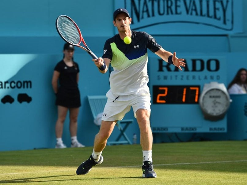 Andy Murray to make competitive return at Queen's Club tennis tournament
