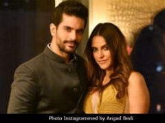 Neha Dhupia And Angad Bedi Are Planning Wedding Reception. Want To Invite Amitabh Bachchan And Salman Khan: Report