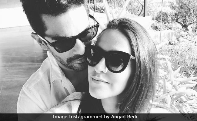Angad Bedi's Message For 'Wifey' Neha Dhupia Is Winning The Internet