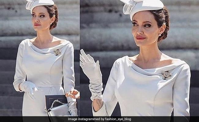 Angelina Jolie's Latest Look Is Surprisingly Very Un-Jolie