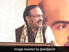 On Camera, BJP's Anil Jain Abuses Officials Before Amit Shah Event