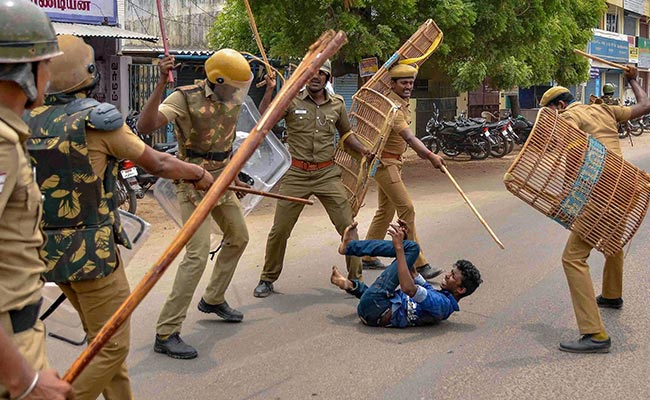 anti sterlite protest police action pti 650