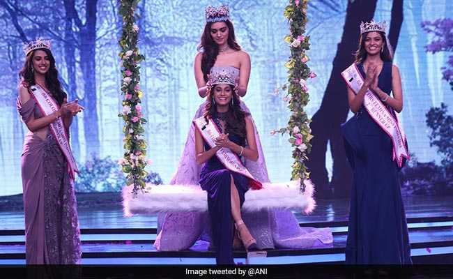 Anukreethy Vas From Tamil Nadu Crowned Femina Miss India 2018