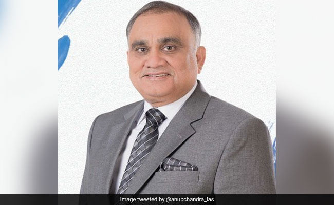 Former UP Chief Secretary Anup Chandra Pandey Takes Charge As Election Commissioner