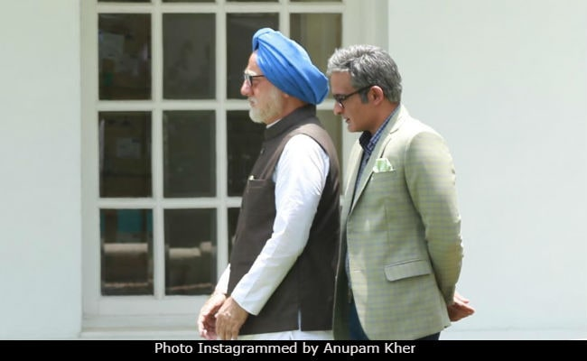 The Accidental Prime Minister: Anupam Kher Shares Pic From Sets. Wait... Can You Spot Akshaye Khanna?