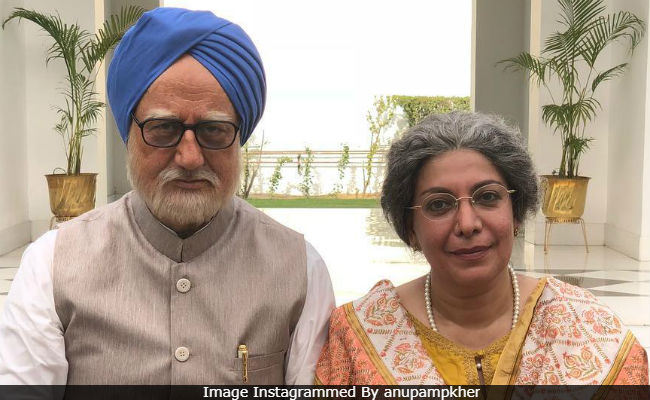 The Accidental Prime Minister: Anupam Kher Introduces The Actress Who Plays Manmohan Singh's Wife