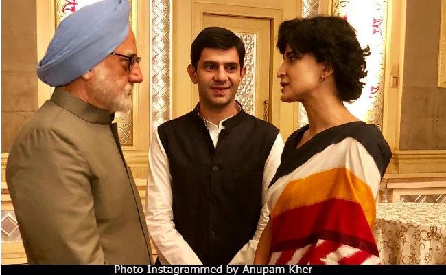 Can't Separate Cinema, Politics: Anupam Kher On Manmohan Singh Film