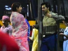 Anushka Sharma And Varun Dhawan Are Back To <i>Sui Dhaaga</i> Duties. See Trending Pics