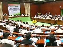 कांग्रेस कार्यसमिति की बैठक : सोनिया ने कहा- बीजेपी की उल्टी गिनती शुरू, मनमोहन बोले- आर्थिक विकास के लिये देंगे राहुल का साथ